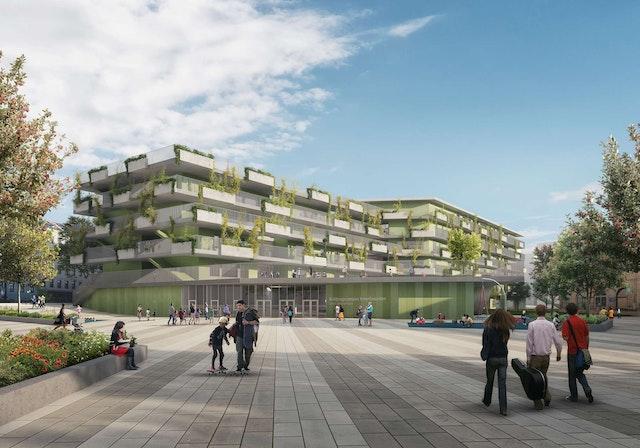 Neubau Bildungscampus Innerfavoriten in Wien