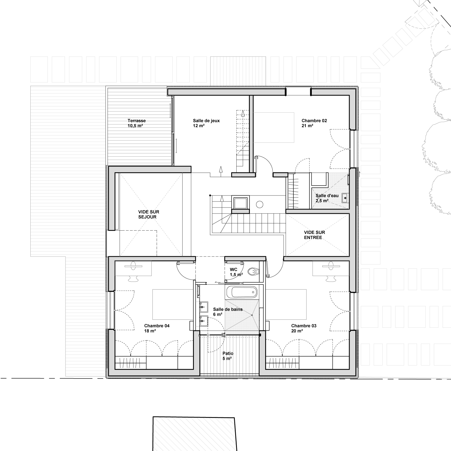 Plan Distribution Maison