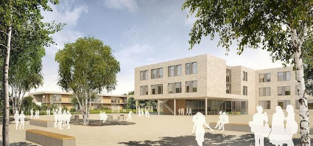 Neubau eines Kinderbildungszentrums (KiBiZ) in der Regimentsvorstadt in Parchim
