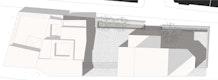 Platzgestaltung mit Gebetshaus M 1:200