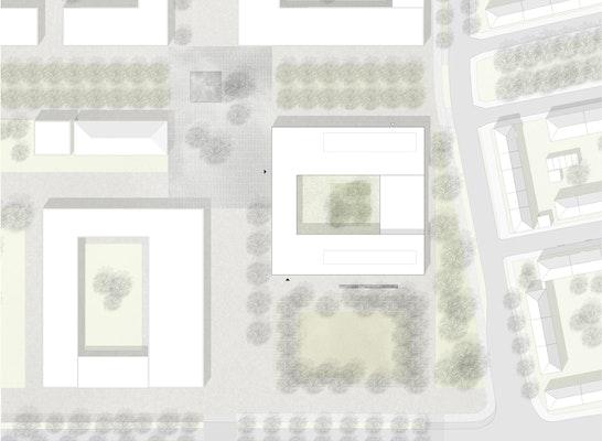 1. Preis: Lageplan, © Fritsch+Tschaidse Architekten GmbH
