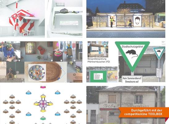 Gewinner: Sechs zur Umsetzung ausgewählte Arbeiten