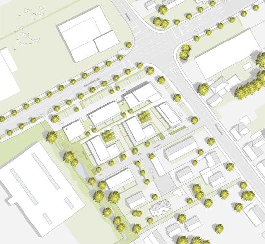 Lageplan @h2 architektten