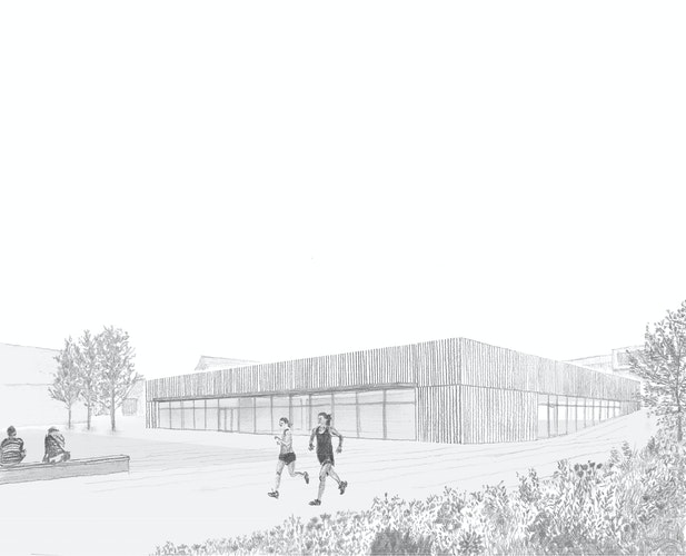 Neubau Dreifeldhalle