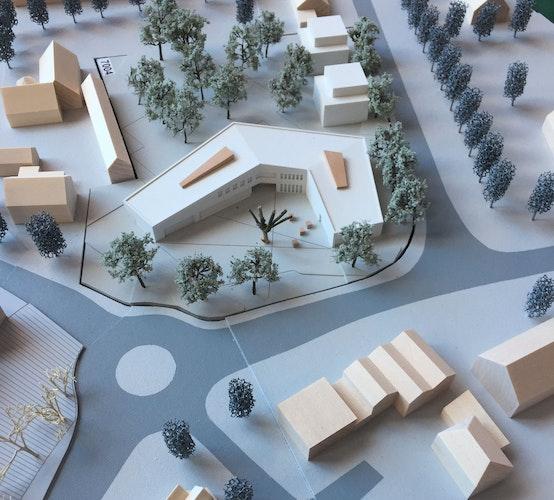 Neubau Rathaus / Dorfgemeinschaftshaus sowie Umgestaltung des Ortskerns Cappeln