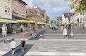 g2-Landschaftsarchitekten, Entwicklung Altstadt Oberkirch - Blick Hauptstraße