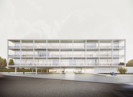 Ergebnis Neubau Oberschule Am Richard Hartmann Plat Competitionline