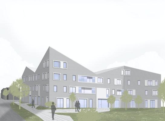 Ergebnis Neubau Einer Wohnanlage Auf Dem Wangler Arcompetitionline
