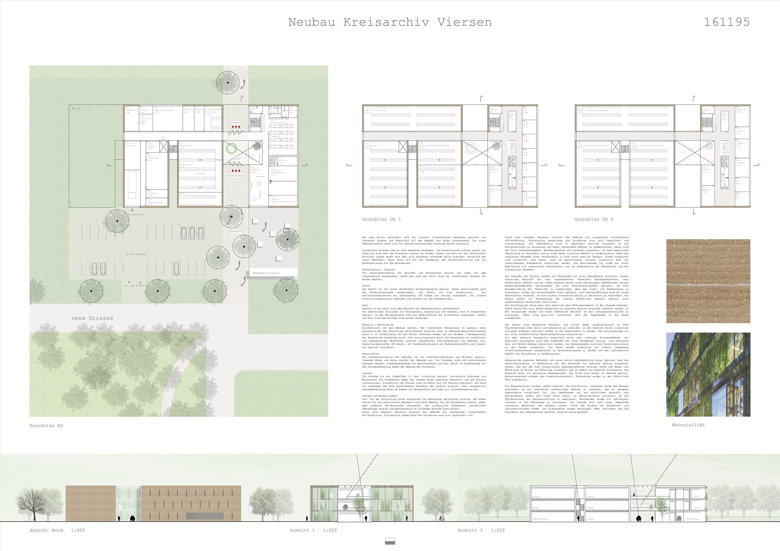 Ein 3 Preis Neubau Des Kreisarchivs Competitionline