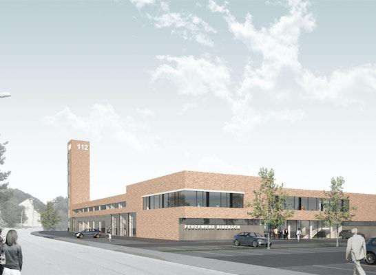 Ergebnis Neubau Feuerwehrgerätehaus Mit Kreisgerä