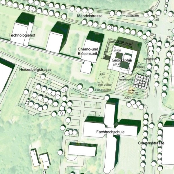 Ergebnis: Neubau Institutsgebäude Geographie für d ...