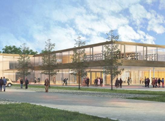 Ergebnis Neubau Gymnasium Grünwaldcompetitionline