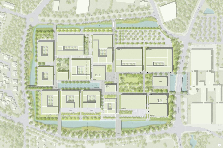Ergebnis: Neubau 2. BA der Fakultät für Maschinenb ...