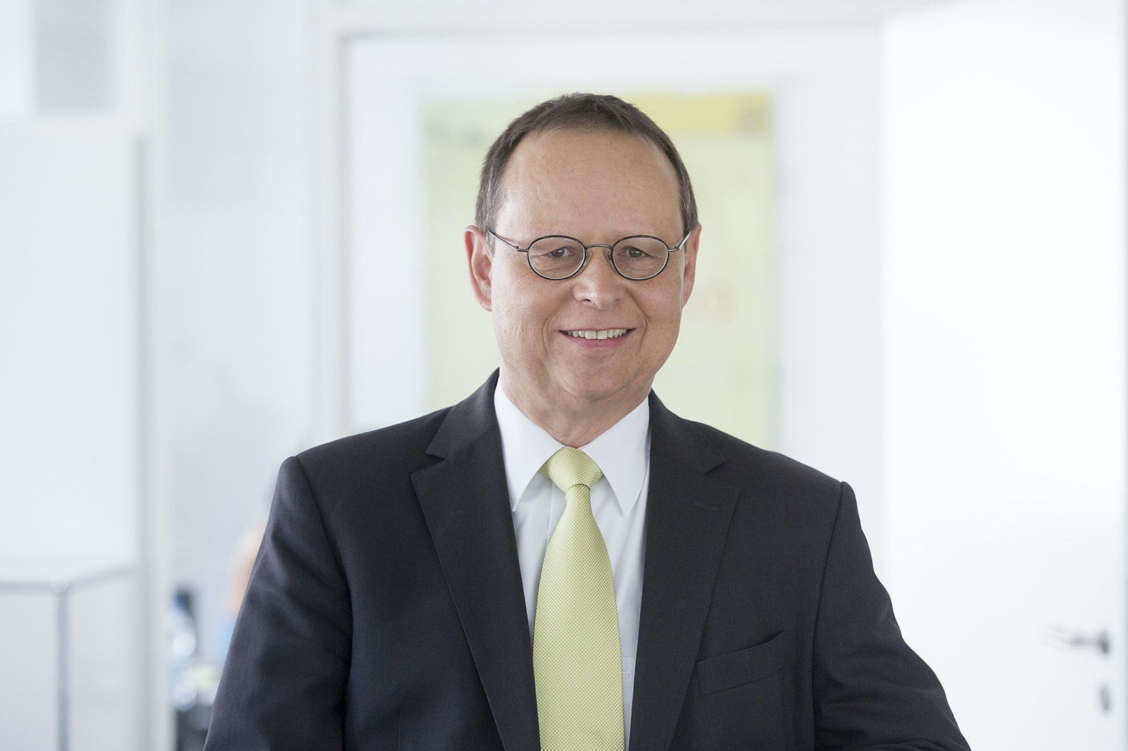 Hans Dieterle, Geschäftsführer der Architektenkammer Baden-Württemberg