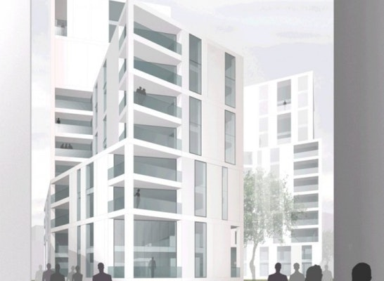"""Wohnen Im Brahmsquartier: 2. Preis Hochbaulicher Realisierungswettbewerb """"Wohn"""