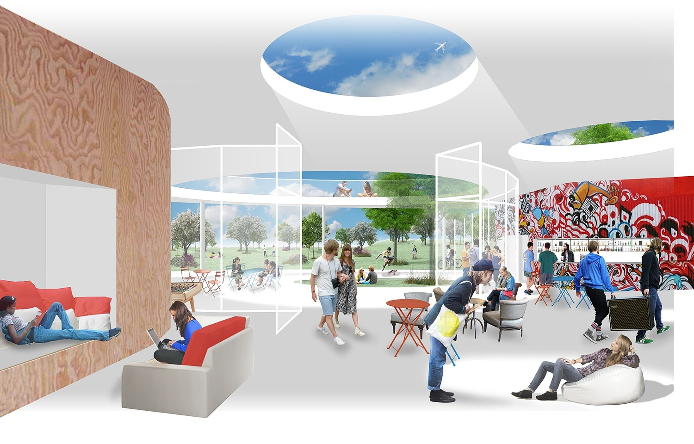 1 Preis Neubau Jugendzentrum Competitionline